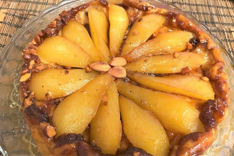 Пирог с грушей рецепты с из слоеного