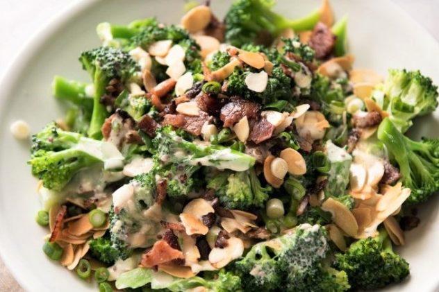 salat s brokkoli recept s foto