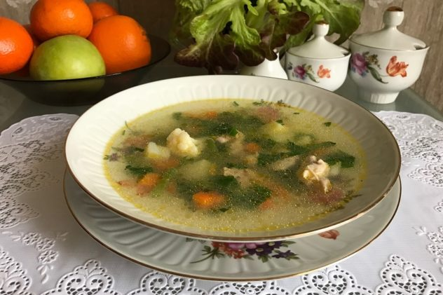 Sup iz zamorozhennykh ovoshchey recept