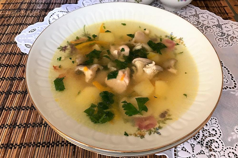 вкусный суп с вешенками рецепты