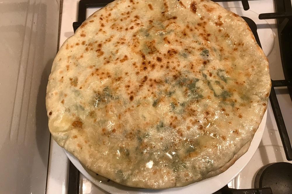 Хычины с мясом в духовке рецепт пошагово