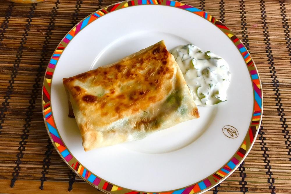 Кутабы с сыром рецепт с фото