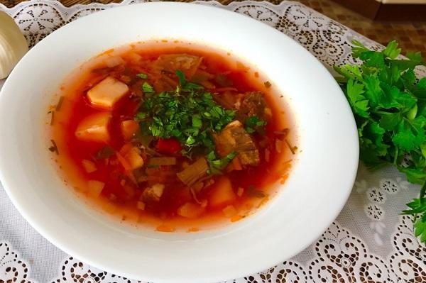 Borshh po ukrainski luchshii recept