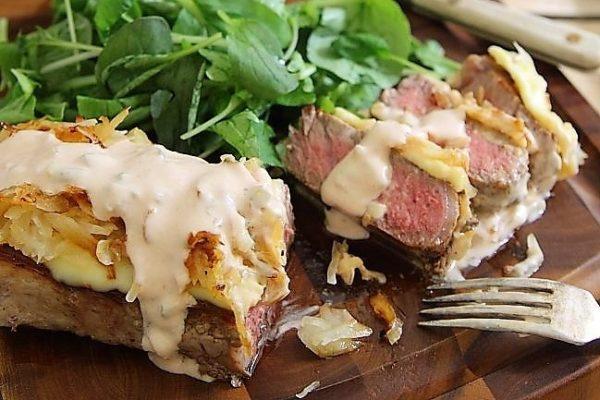 stejk sendvich s kvashenoj kapustoj recept