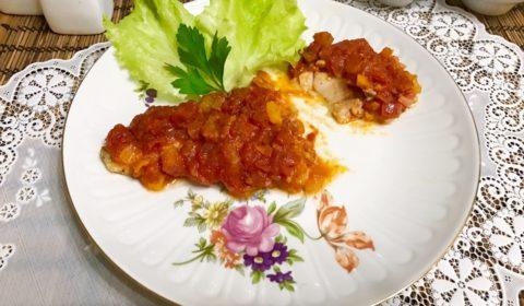 Филе судака запеченное в духовке. Судак запеченный с овощами.