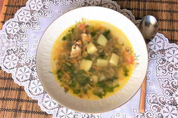 Суп с чечевицей и картофелем рецепт куриного супа