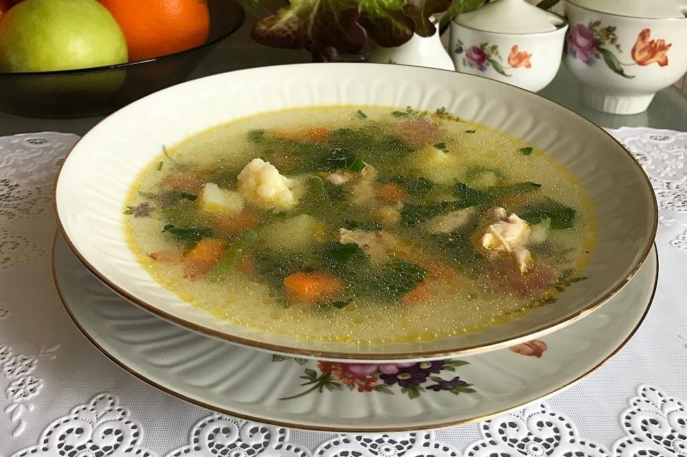 ovoshchnoi sup iz zamorozhennykh ovoshchei