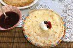 Рецепт тоненьких блинов или Как жарить блины на сковороде