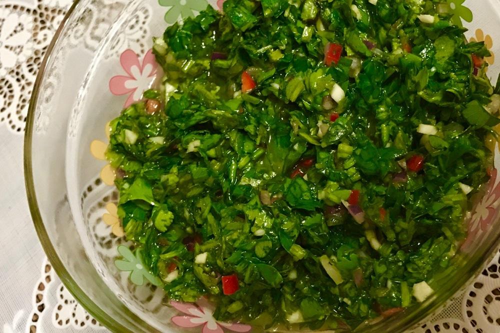 CHimichurri sous recept