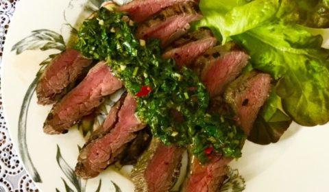 Фланк стейк из говядины на сковороде рецепт пошагово