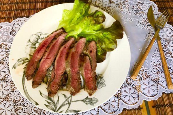 Recept steika iz govyadiny na skovorode gril