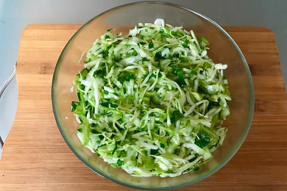 салаты из зелени для похудения