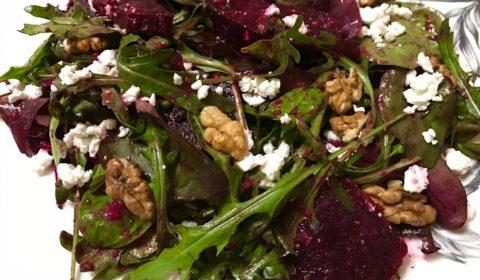 salat iz zapechennoi svekly