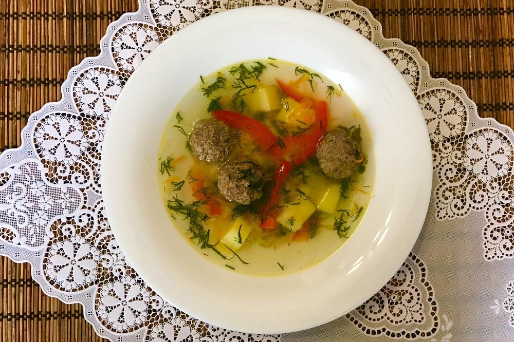 sup s frikadelkami iz govyadiny ili kak gotovit sup s frikadelkami