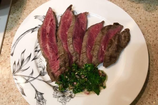 Стейк из мраморной говядины Flank Steak