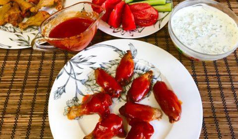Крылышки в духовке с хрустящей корочкой рецепт приготовления