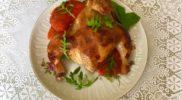 Курица корнишон рецепт с перечно-томатным соусом