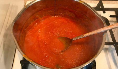 Соус из помидор и перца. Ароматный перечно-томатный соус.