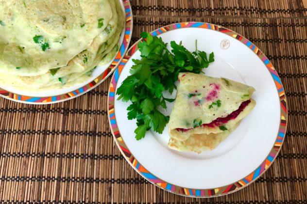 Blinchiki iz kabachkov recept s foto i nachinkoi iz svekly