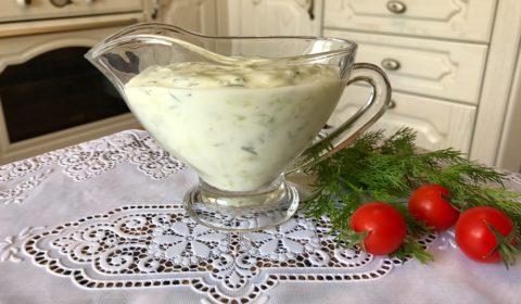 Соус Цацики (дзадзики). Рецепт греческого соуса с фото.