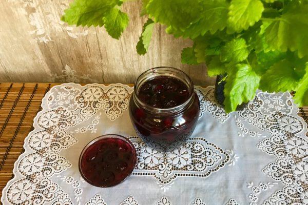 Как варить вишневое варенье без косточек Быстрое варенье из вишни