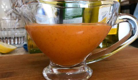 Заправка для салата с болгарским перцем чесноком и горчицей