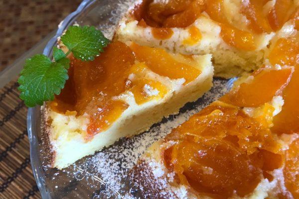 Bystryj pirog s abrikosami recept s foto