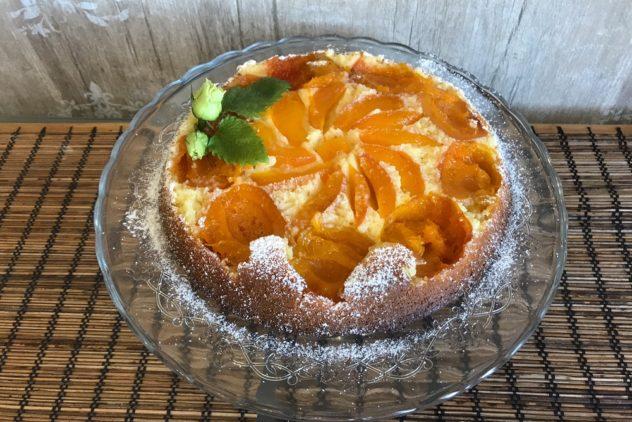 Pirog s abrikosami svezhimi recept s foto