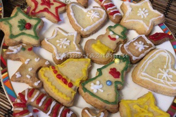 Печенье с имбирем рецепт рождественский ну или новогодний