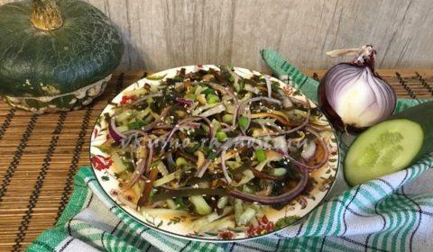 как приготовить салат из морской капусты