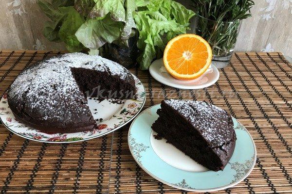 Shokoladnyi pirog prostoi recept na kokosovom moloke