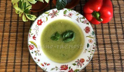 Kak prigotovit sup pyure iz brokkoli i shpinata kuriny'j i postny'j