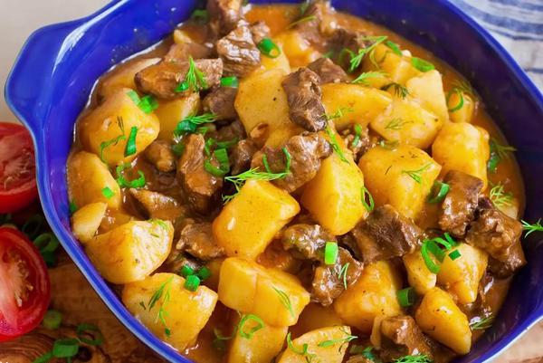 Zharkoe iz govyadiny s kartoshkoi recept