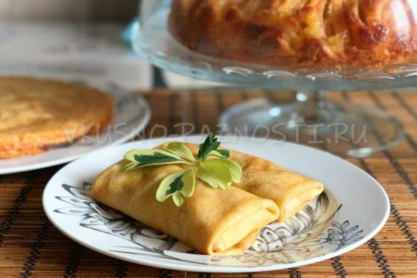 Blinchiki s myasom recept s foto i video