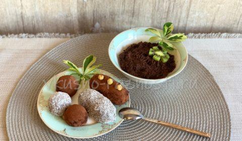Vegetarianskie deserty Postnyj desert iz nuta recept bez vypechki