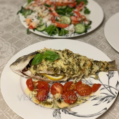 Ryba dorada kak prigotovit v duhovke